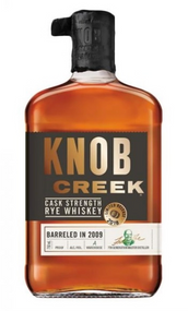 Knob Creek Cask Strength Rye Whiskey Barreled 2009