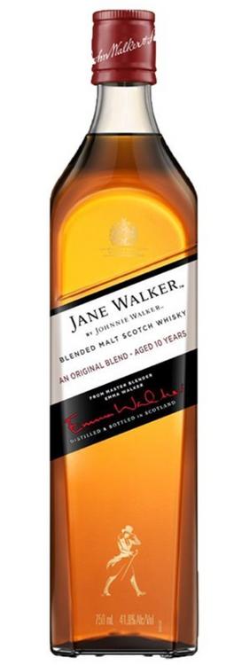 JANE WALKER BY JOHNNIE WALKER SCOTCH BLENDED ORIGINAL BLEND 10YR 750ML