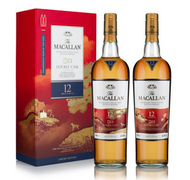 Macallan 12 Year Old Double Cask Year of the Dog Limited Edition Twin Pack (2X750ML)