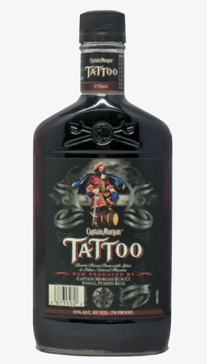 Captain Morgan's Tattoo (375ML)