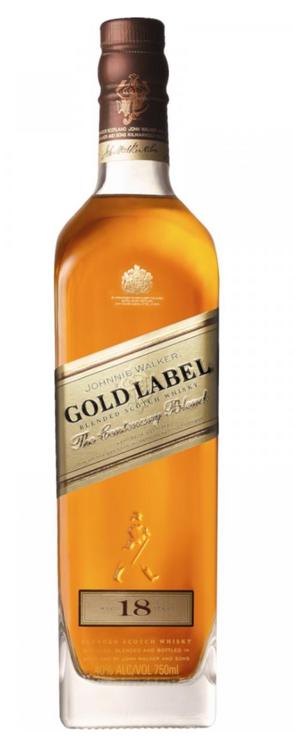 Johnnie Walker Gold Label 18yr Old 750ml, 40%