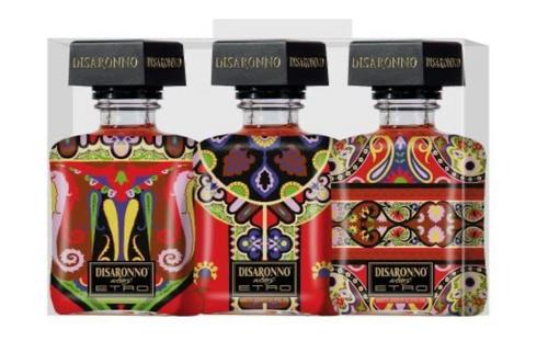 Disaronno Wears ETRO 50ml (Miniature Pack of 3)
