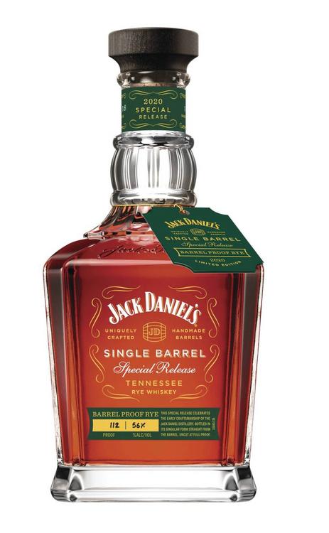 Jack Daniels Single Barrel Proof Rye Limited Edition 2020 Proof (750ML)