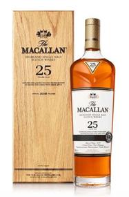 MACALLAN 25 YEAR HIGHLAND SINGLE MALT SCOTCH WHISKY 750ML