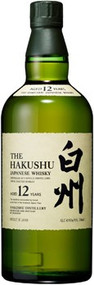 HAKUSHU JAPANESE WHISKY AGED 12 YEARS (750 ML)