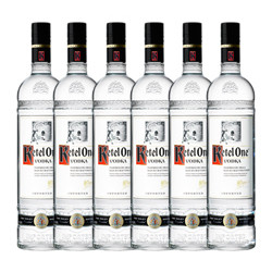 Ketel One Vodka Half-Case 750ml (6 bottles)