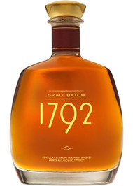 """1792 Small BatchSophisticated and complex. A distinctly different bourbon created with precise craftsmanship. Made from our signature """"high rye"""" recipe and the marriage of select barrels carefully chosen by our Master Distiller. 1792 Bourbon has an expressive and elegant flavor profile. Unmistakable spice mingles with sweet caramel and vanilla to create a bourbon that is incomparably brash and bold, yet smooth and balanced. Elevating whiskey to exceptional new heights, 1792 Bourbon is celebrated by connoisseurs worldwide.750ML, Bourbon Whisky, USA"""