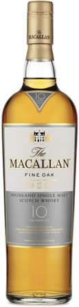 MACALLAN FINE OAK 10 YEAR OLD SCOTCH (750 ML)