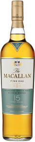 MACALLAN FINE OAK 15 YEAR OLD SCOTCH (750 ML)