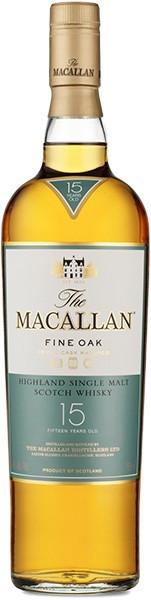 MACALLAN FINE OAK 15 YEAR OLD SCOTCH (750 ML)
