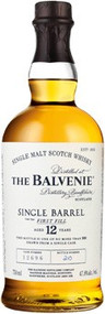 BALVENIE 12 YR SINGLE BARREL (750 ML)
