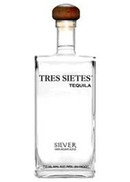 Tres Sietes Silver Tequila 750mL