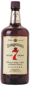 SEAGRAM'S 7 CROWN BLENDED WHISKEY (1.75 LTR)