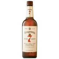 SEAGRAM'S 7 CROWN BLENDED WHISKEY (1 LTR)