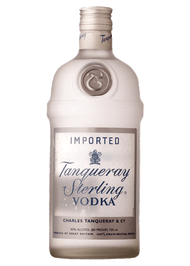 TANQUERAY STERLING VODKA 1L (100 PROOF)