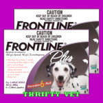 Frontline Plus Flea & Tick for Dogs 45 to 88 lbs (12 Months)