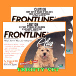 Frontline Plus Flea & Tick for Dogs up to 22 lbs (12 Months)