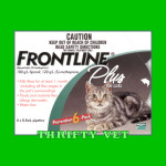 Frontline Plus Flea & Tick for Cats Of Any Weight (6 Months)