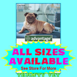 Advantage Flea Control for Dogs 11 to 20 lbs. (4 Months)