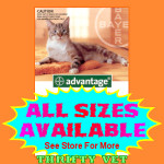 Advantage Flea Control for Cats up to 9 lbs. (4 Months)