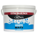 Crown Matt Emulsion 7.5L Pure Brilliant White