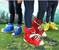Funk Feet Festival/Camping Shoe Covers Red / Blue