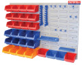 Storage Bin Set with Wall Panels 43 Piece