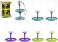 Pack Away Wine Glasses Twin Pack
