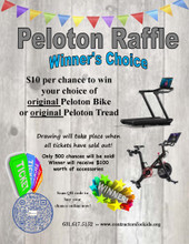 Peloton Bike or Peloton Tread Raffle Ticket