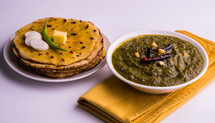 Makki Ki Roti and Saag Special