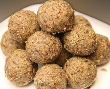 The flaxseed pinni