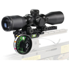 Optimizer Speed Dial with SD-L4 Illuminated Single Reticle Scope