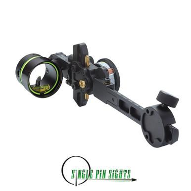 The HHA Sports Optimizer King Pin Tournament Edition is the premier single pin movable sight for target archery.