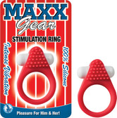 MAXX GEAR STIMULATION RING-RED