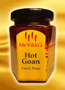Mr Vikki's Hot Goan Curry Paste