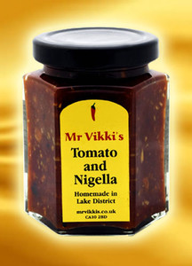 Mr Vikki's Tomato and Nigella Chutney
