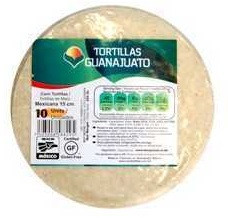 Corn tortillas 15 cm (10 units)