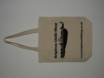Brighton Chilli Shop Reinforced Jute Bag