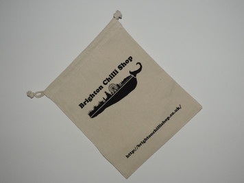 Brighton Chilli Shop Draw String Bag