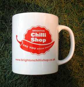Chilli Mug, Brighton Chilli Shop Mug