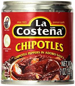 La Costena Chipotle in Adobo Sauce 220g net