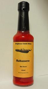 Habanero Hot Sauce Brighton Chilli Shop 150ml