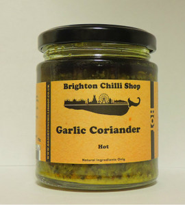 Garlic Coriander (hot) 175g Brighton Chilli Shop
