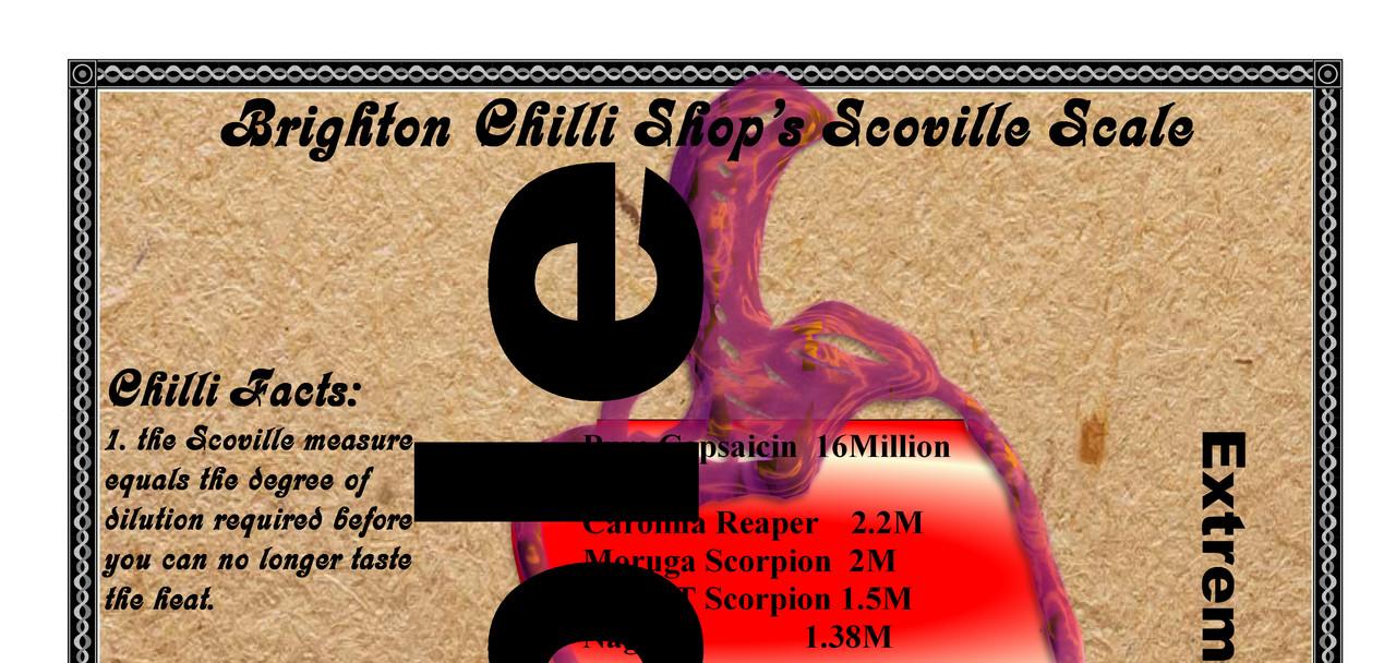 Scoville Scale A3