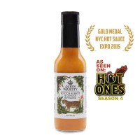 Queen Majesty's Scotch Bonnet and Ginger hot sauce
