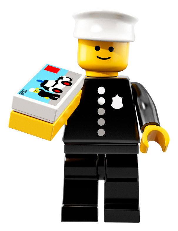 LEGO® Minifigures Series 18 Police Officer
