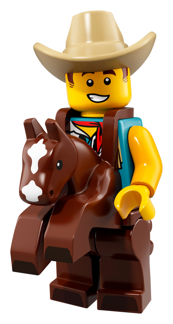 Cowboy Costume Guy NEW LEGO MINIFIGURE​​S SERIES 18 71021