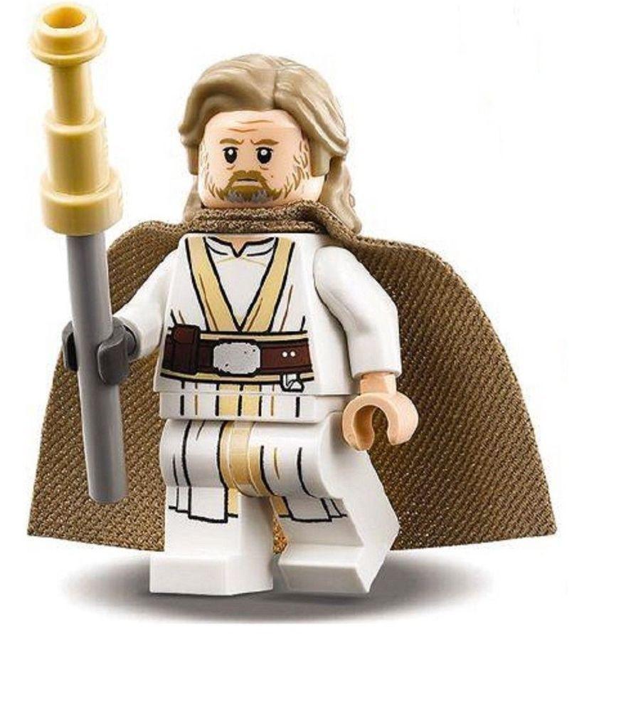 Lego Star Wars Luke Skywalker From 75200 Includes Staff The