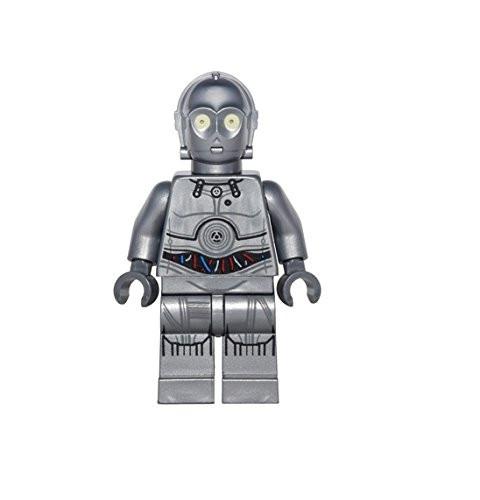 Lego Star Wars Minifigure Gray//Silver Protocol Droid 75146 2016 Advent Calendar!