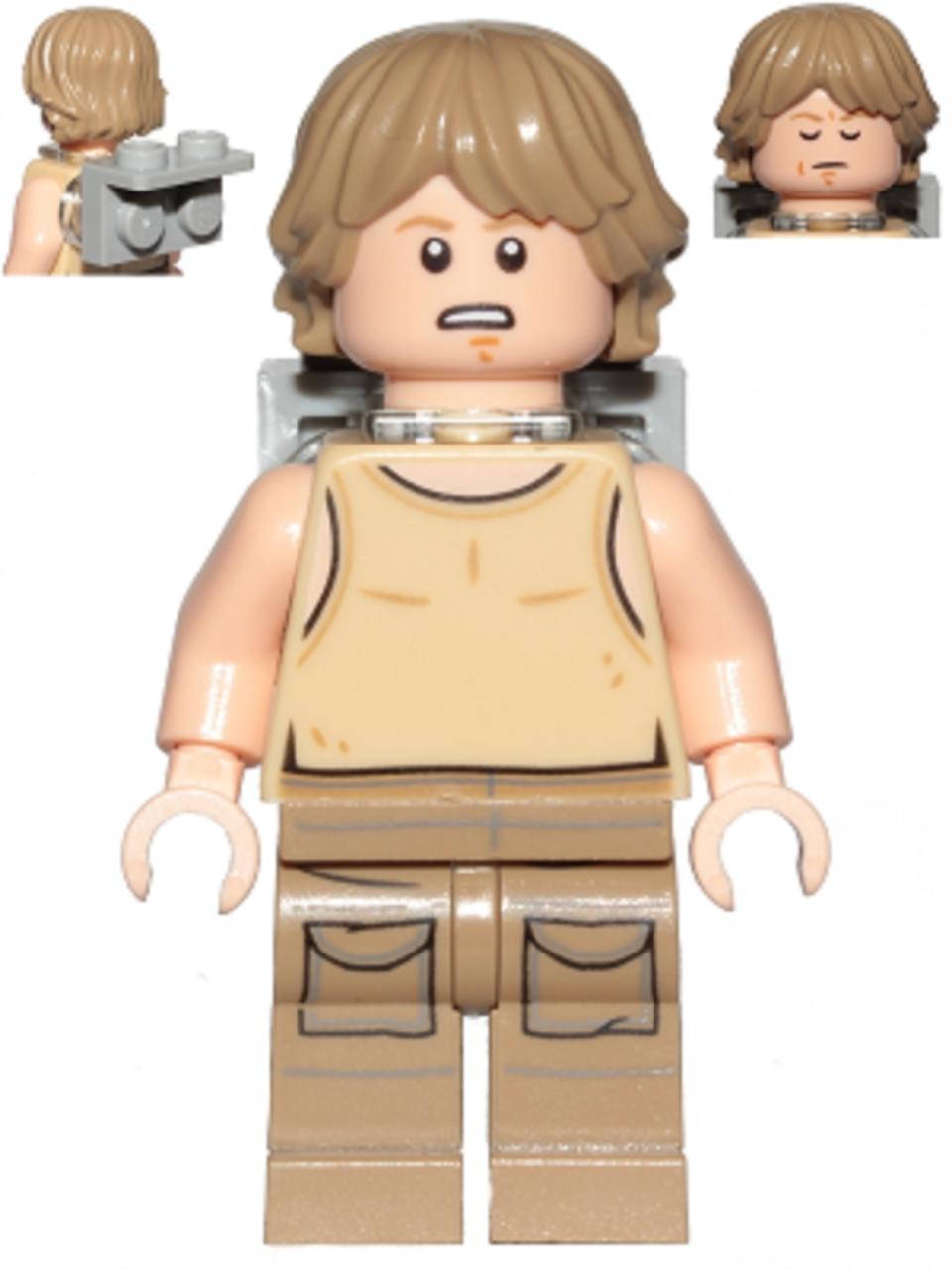 Lego Star Wars Luke Skywalker Dagobah From 75208 The Brick People